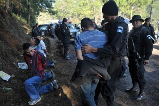 Four Alleged Members of Mexican 'Los Zetas' Cartel Arrested in Guatemala