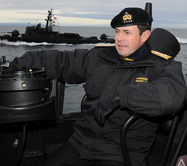 Interview with Admiral Edmundo González Robles, Chief Naval Officer of the ChileanNavy