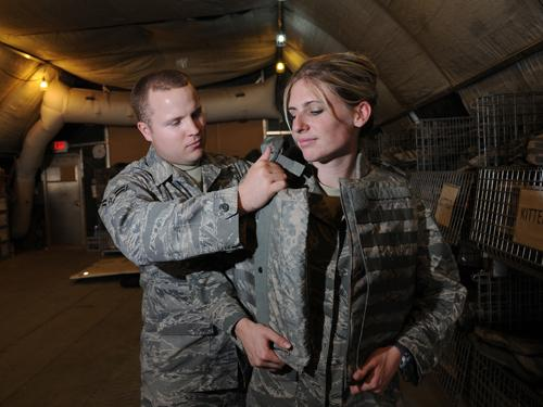 Army Works To Create More Comfortable Body Armor For Women