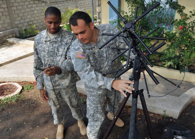 Army Provides Mobile Satellite Communications For Disaster Response