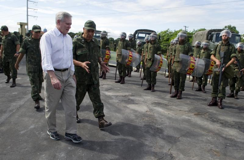 Secretary of the Navy Concludes 10-day Trip to South America