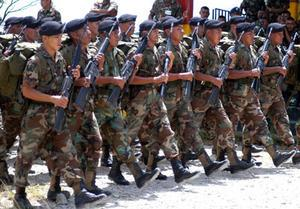 Central America Increased the Number of Military Personnel in 2011