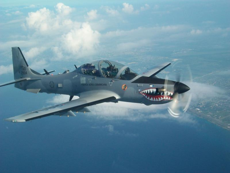 AFSOUTH Helps Support Tactical Dominican Air Force