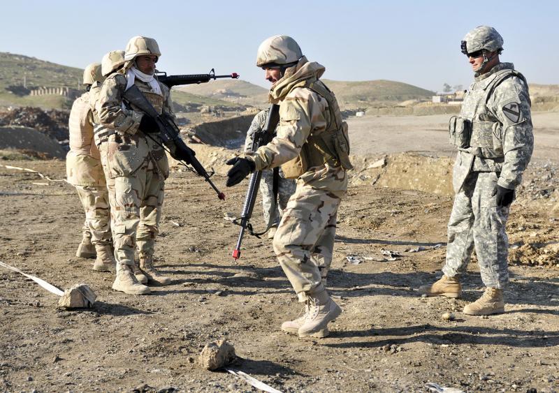 Training Center Tailors Training To Fit Iraqi Combat Roles