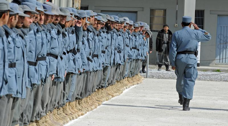 Afghan Police Graduate C-IED Course Prepared to Train Others