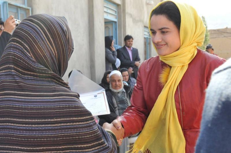 Female Engagement Teams Work with Parwan Women