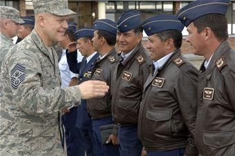 Chief Roy Strengthens Ties With Colombian Partners