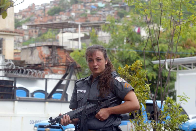 The Invasion of the Rio Slums through a Woman's Eyes