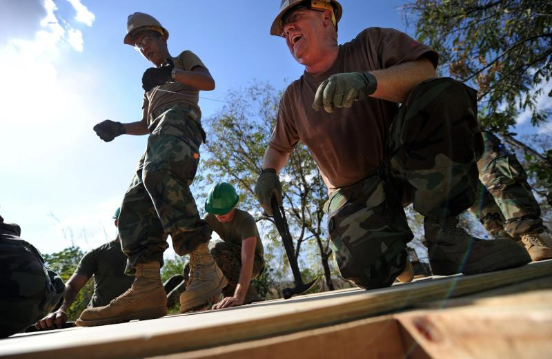 Seabees, Marines Kick Off Southern Partnership Station 2011 Honduras Mission