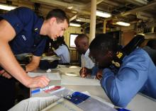 U.S. Coast Guard Cutter Diligence supports Exercise Tradewinds 2011