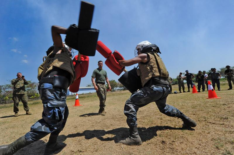 Marine Corps Training, Advisory Group Partners with Nicaraguan Military