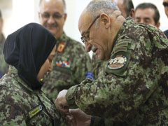 AFGHANISTAN: Ceremony Marks First  Joint Ministerial Graduation