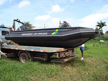 The Brazilian Navy Purchases DSG Speedboats for Inspection of River Traffic