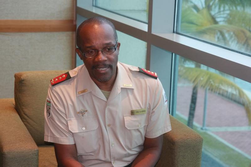 Interview with Suriname Chief of Defense, Col. Hedwig Gilaard