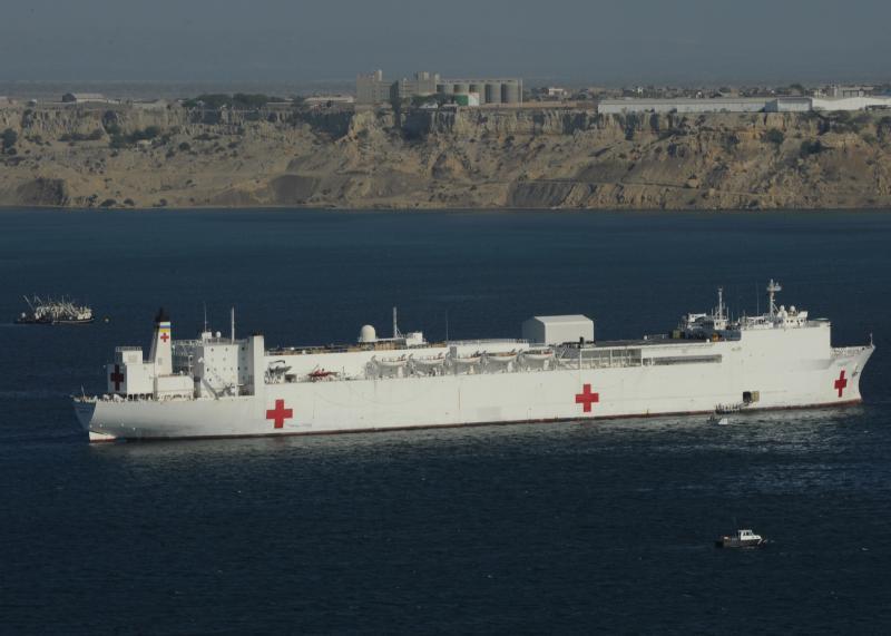 U.S. Hospital Ship Begins Medical and Humanitarian Mission in Peru
