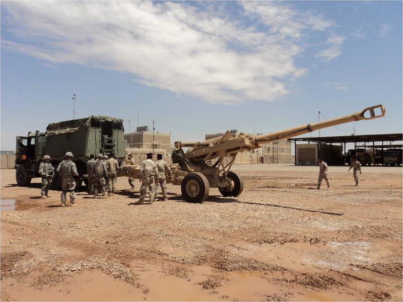 'On Time' Battalion Supplies Iraqi Army With Advanced Field Artillery Capability