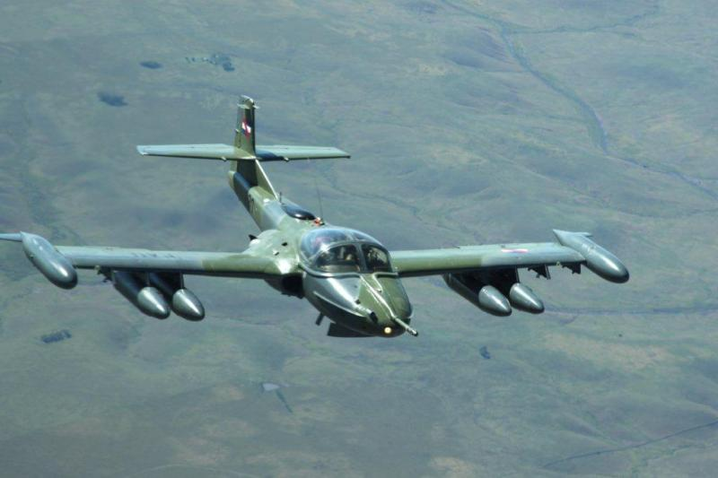 Brazilian and Uruguayan Air Forces Conduct Exercise to Combat Illegal Border Traffic