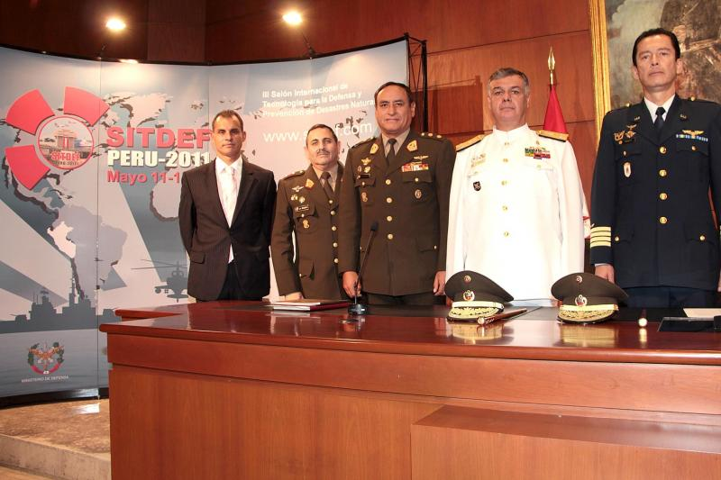 Peruvian Defense Ministry and Armed Forces Joint Command Organize Technology Fair