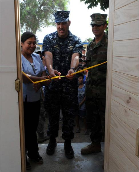 Seabees Complete Peruvian School Renovation
