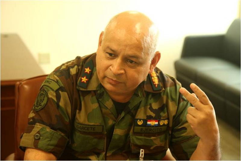 Diálogo Interview With Lt. Gen. Adalberto Ramon Garcete of Paraguay