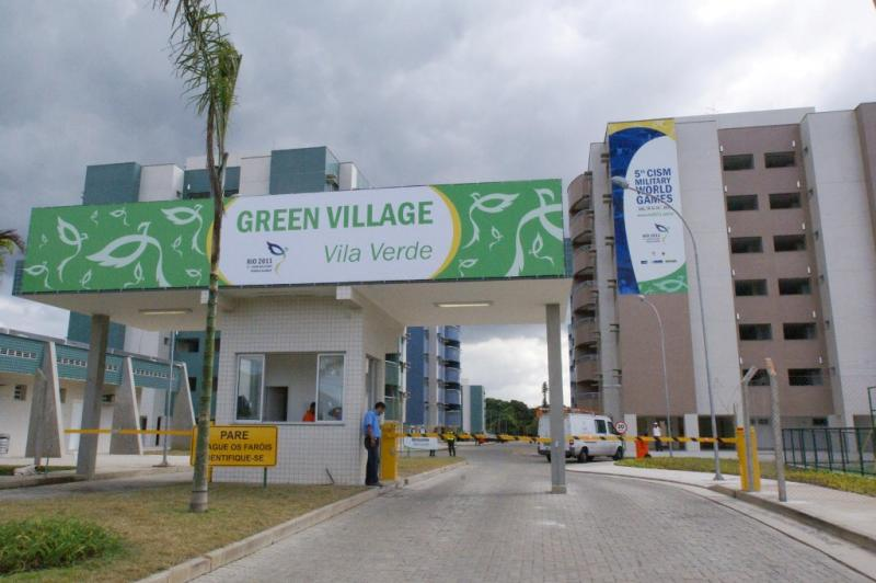Vila Verde Offers the Athletes Pioneering Infrastructure for Military Games