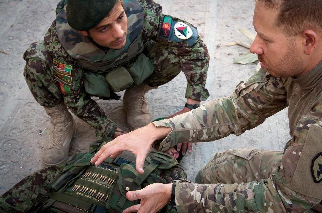 Brazilian-Born Medic Shares Life-Saving Skills With Afghans