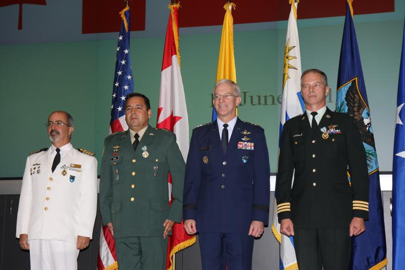 USSOUTHCOM Bids Farewell to Partner Nation Liaison Officers