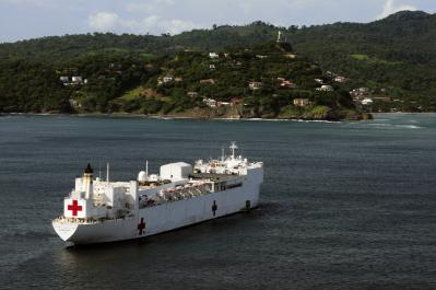 U.S. Hospital Ship Arrives in Nicaragua to Provide Care to Local Patients