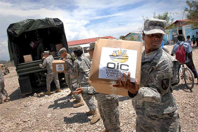 Task Force Bon Voizon Completes Haiti Relief Operations