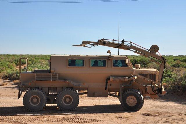 Heavy Metal Vehicles Roll Out For Soldiers Clearing Combat Environments