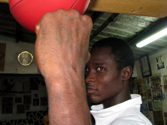 Boxer from a Slum in Haiti Is Invited to Participate in the Peace Games