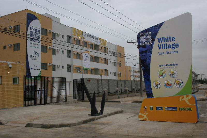 Brazilian Navy Inaugurates Vila Branca for the 5th Military World Games