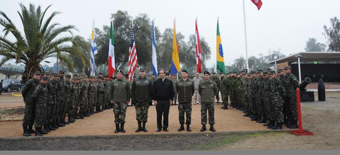 Chile Opens International Military Exercise