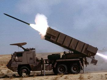 Brazilian Army Fires Rocket Launcher System Used in Defense of Capital