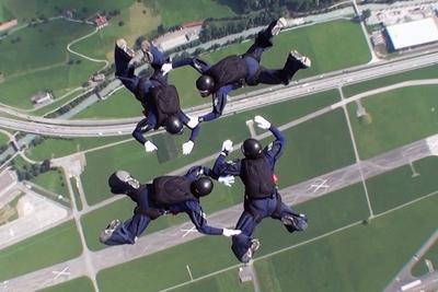 Parachuting at the Military World Games