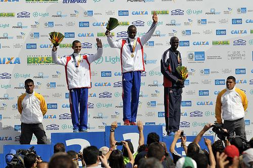 France and North Korea Win the First Gold Medals in Marathon
