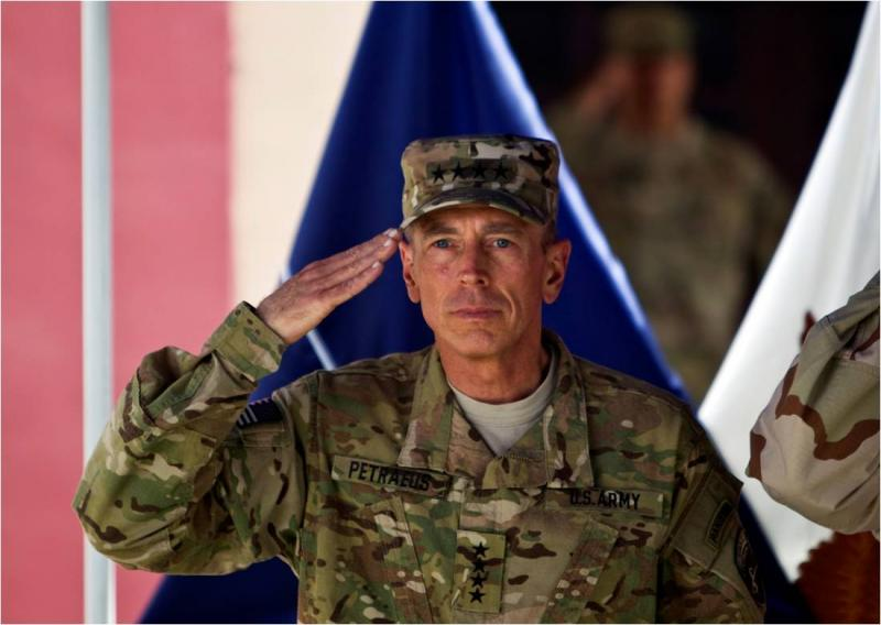 New CIA Chief Petraeus Hands Over Command In Afghanistan