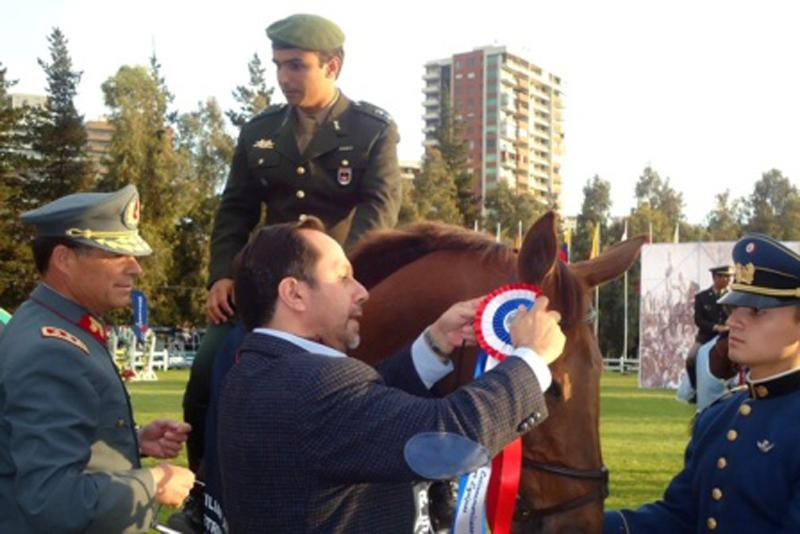 South Americans Dominate Equestrian Event