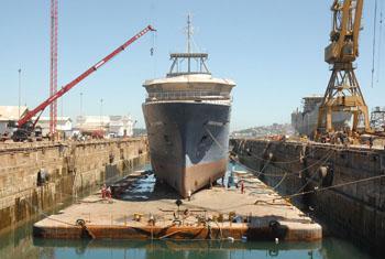 Chile Will Have the AGS 61 Cabo de Hornos Scientific Ship in 2013