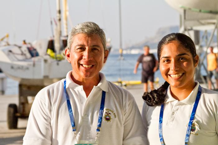Experience: The Most Important Aspect for the Ecuadorian Sailing Team