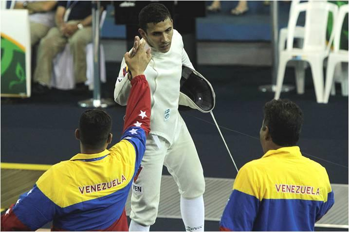 Venezuela Wins Gold Medal In Fencing