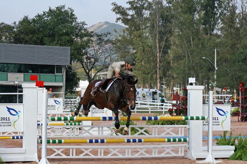 Argentina, Brazil, Chile, Colombia, Ecuador, and Uruguay Compete in Equestrian