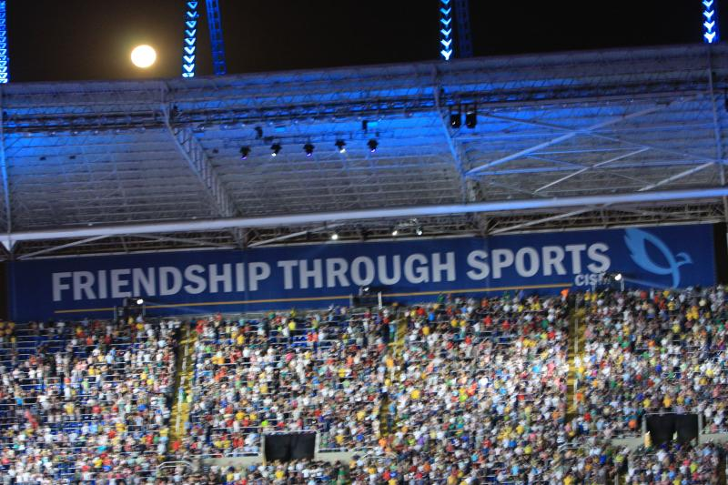 Athletes Recognize Importance of Friendship at the Games