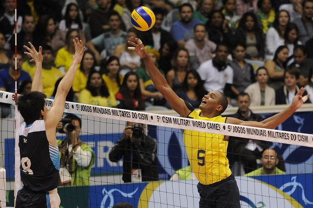 A Double Dose Of Gold For Brazil In Volleyball