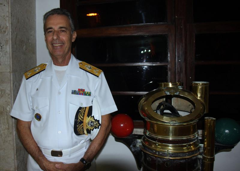 Interview With Vice Admiral Bernardo Gamboa