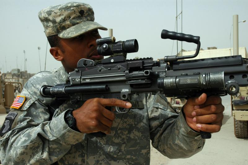Soldiers May Soon Have Lighter Machine Gun
