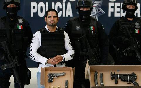 Leader of Gulf Cartel Hitmen Detained in Mexico