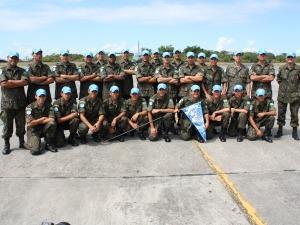Brazilian Peace Force Squad Departed to Haiti