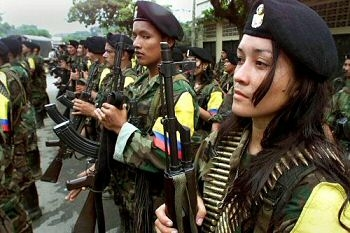 Colombian government: FARC abusing female guerrillas