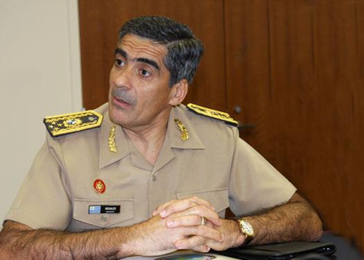 Interview with Gen. Jorge Washington Rosales Sosa, Commander-in-Chief of the Uruguayan Army